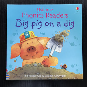 Children Usborne Story Book Big Pig on a Dig BK1032A