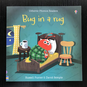 Children Usborne Story Book Bug in a rug BK1032B