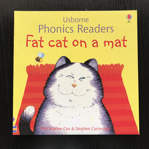 Children Usborne Story Book Fat Cat on a Mat BK1032C