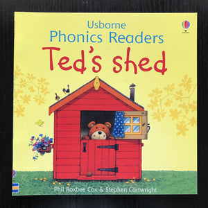 Children Usborne Story Book Ted's Shed BK1032D