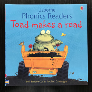 Children Usborne Story Book Toad makes a road BK1032E