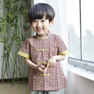 2-10Y Boys Designer Series Chinese New Year outfit A100C14B
