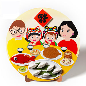 Lunar New Year Art and Craft Decoration DIY Pack CNY1004A