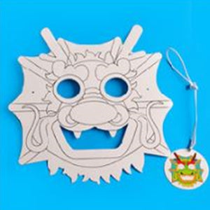 Lunar New Year Art and Craft Lion Dance Mask DIY Pack CNY1011C
