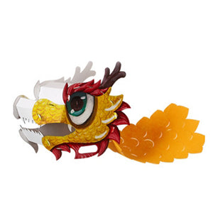 Lunar New Year Art and Craft Lion Dance Mask DIY Pack CNY1011D