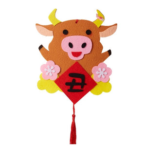 Ox Year Lunar New Year Art and Craft Decoration DIY Pack CNY1021H
