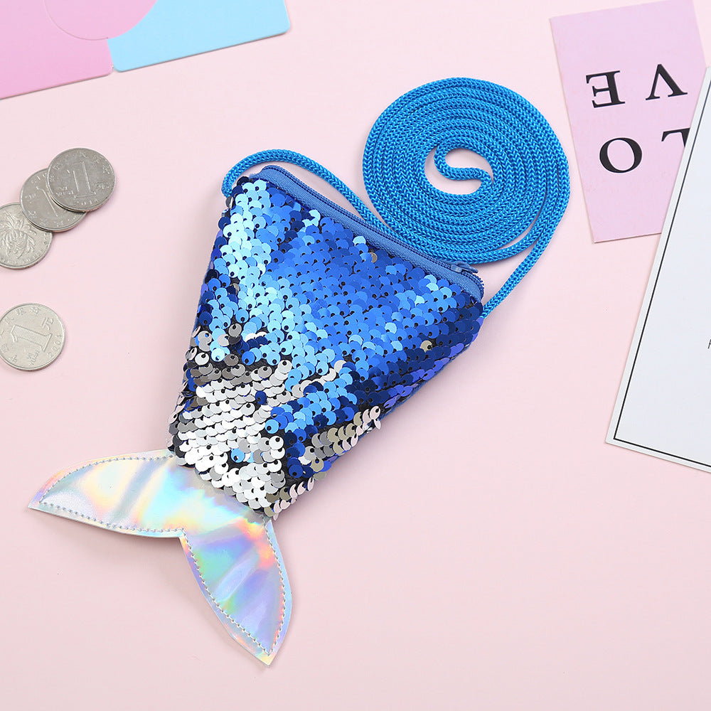Mermaid Sling Pouch with Zipper D2073