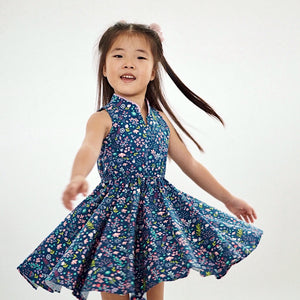 Girl Cheongsam by Korea Chungage fabric A200CEE014D