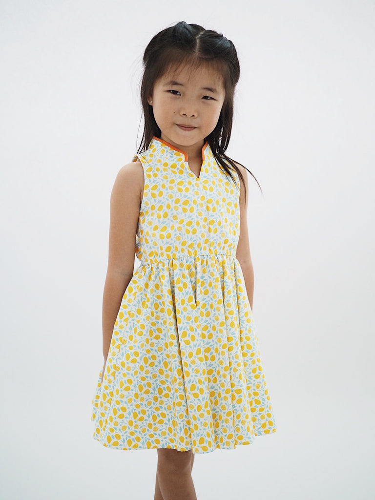 Girl Cheongsam by Korea Chungage fabric A200CEE014C