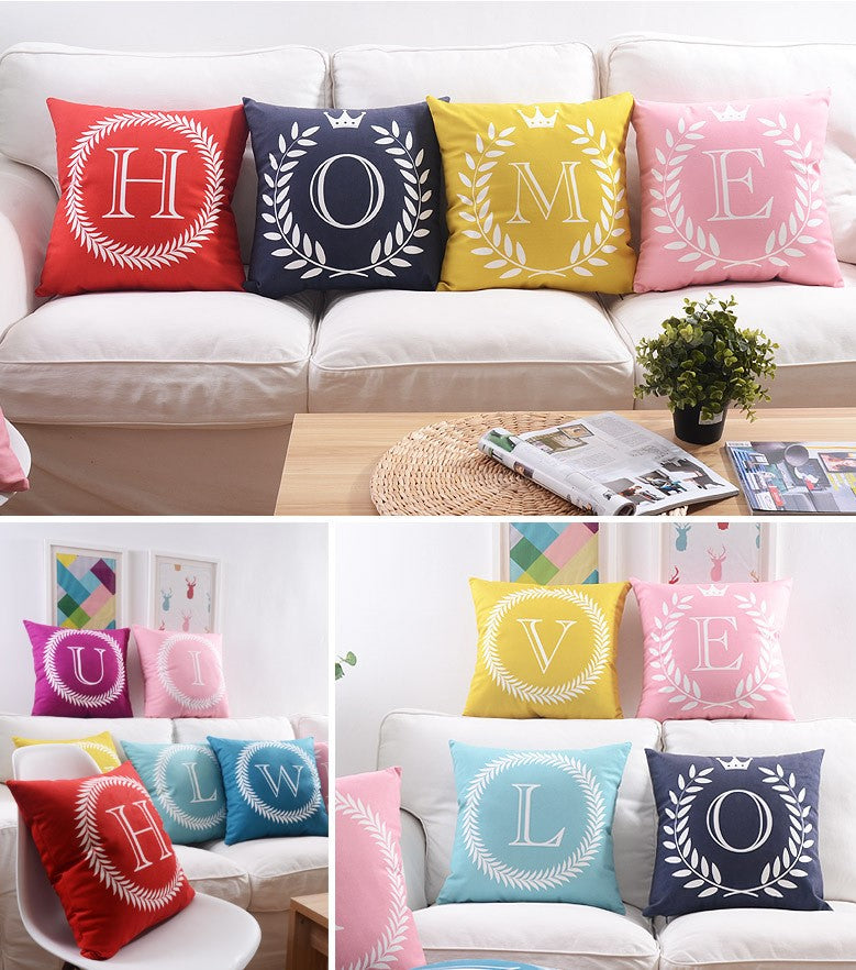 Flannel Double Sided Printed Cushion Covers FA653E