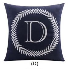 Flannel Double Sided Printed Cushion Covers FA652D