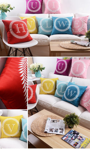 Flannel Double Sided Printed Cushion Covers FA653J