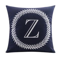 Flannel Double Sided Printed Alphabet Cushion Covers FA653K
