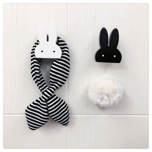 Wooden Bunny Wall Hook for babies and kids rooms H625B