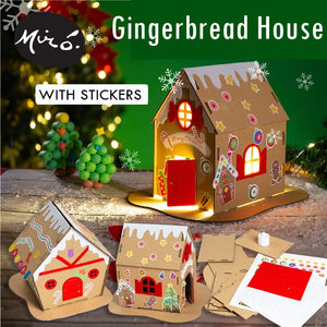 Make your own Christmas Gingerbread House DIY Kit XM1031H
