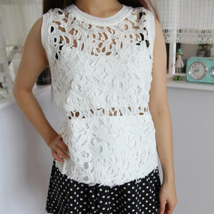 Women Lace Shirt W1001A02