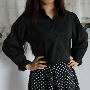 Women Black Shirt W1002A51A