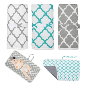 Portable Waterproof Diaper Changing Mat for Baby A60121B