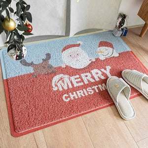 Christmas PVC Door Mat H8021B