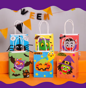 Halloween DIY treat bags / favor bags HLW1001D