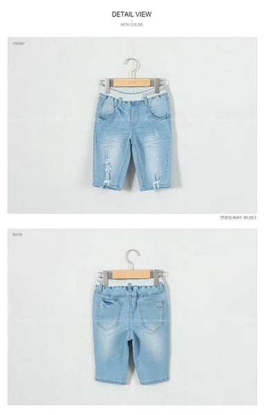 3-15Y Kids Denim Jeans G21043A (Mother size available)