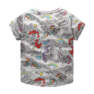 1-6Y Girls Jumping Meters My Little Pony Shirt A20214E