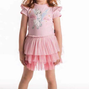 2-10Y Girls Tinker Bell Gradient Tulle Dress G20133A