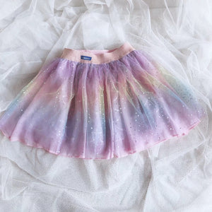 3-8Y Girls Glitter Rainbow Skirt A20412L