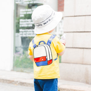 1-6Y Kids Backpack Yellow Shirt A10423K