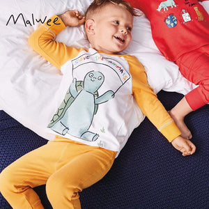 Pyjamas Sleepwear 2pcs Set A40422F