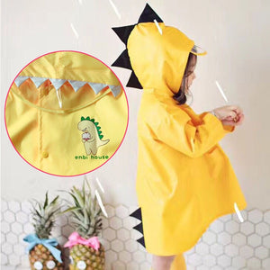 Enbihouse Kids Dinosaur Raincoat RC1001A