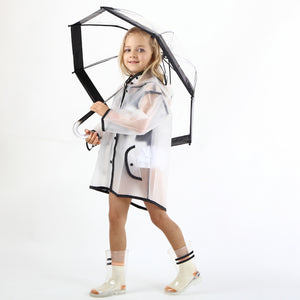 Enbihouse Kids Transparent Raincoat RC1001B