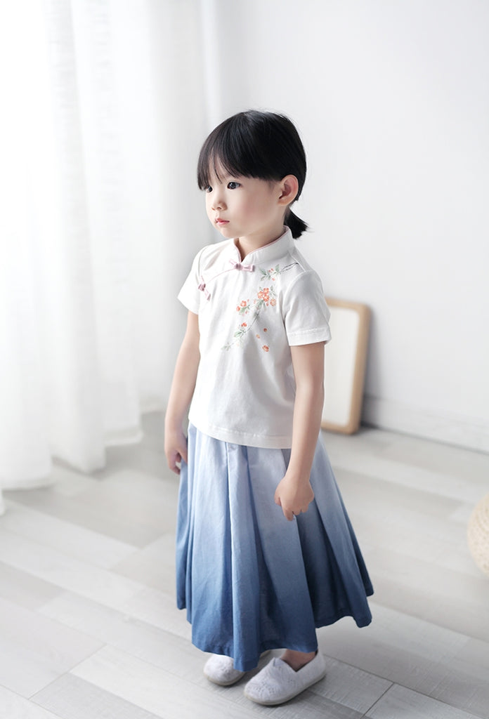 1-6Y Girls Cheongsam Top A200C22B