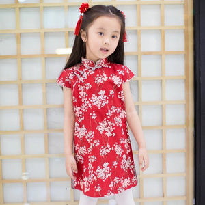 2-8Y Girls Cheongsam Dress A200C63H