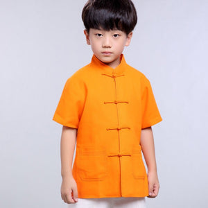 2-15Y Boys Chinese New Year Top A100C16C