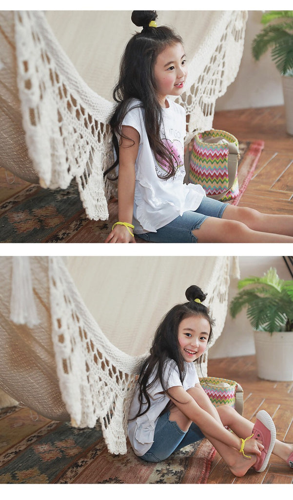 2-15Y Kids Donut Shirt G21041K (Mother size available)