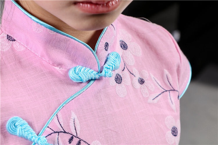 2-8Y Kids Cheongsam Dress A200C66D