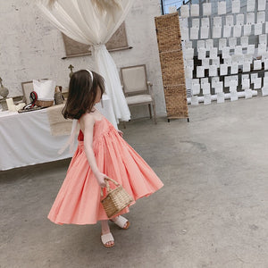 1-8Y Girls Maxi Flare Dress A20126N