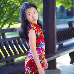 2-8Y Kids Cheongsam Dress A200C66F