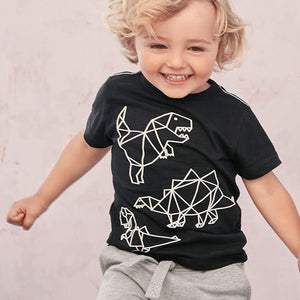 2-8Y Boys Short Sleeves Shirt A10424L