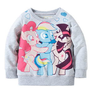 2-7Y Girls Jumping Beans My Little Pony Sweater A20212B