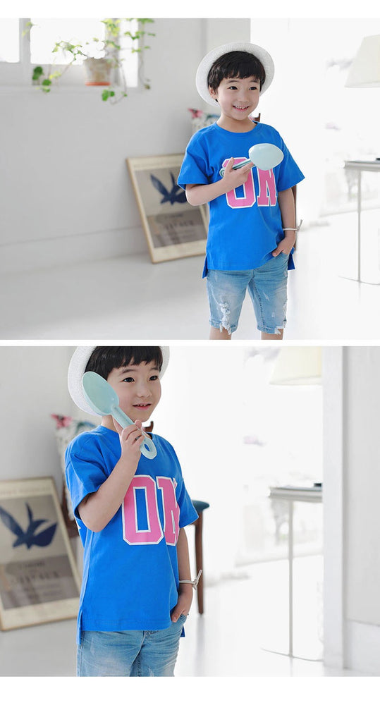 3-15Y Kids ON OFF Shirt G21042D (Mother size available)