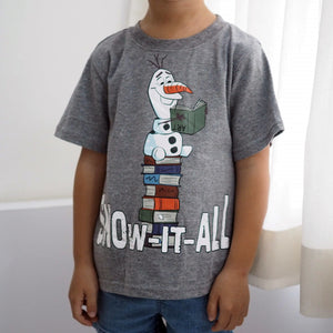 2-6Y Boys Short Sleeve T-Shirt A10427F