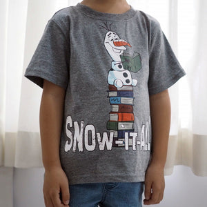 2-6Y Boys Short Sleeve Olaf T-Shirt A10427F