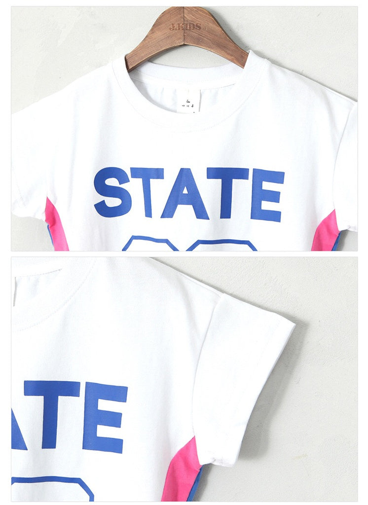 3-15Y Kids STATE 93 Shirt G21042E (Mother size available)
