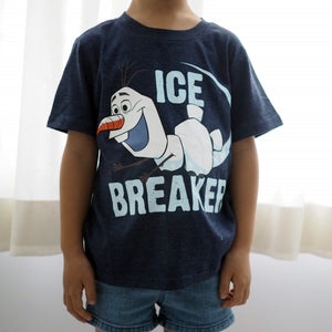 2-6Y Boys Short Sleeve Olaf T-Shirt A10427E