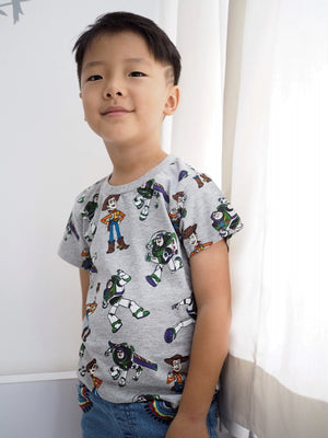 2-7Y Boys Short Sleeve T-Shirt A10426K