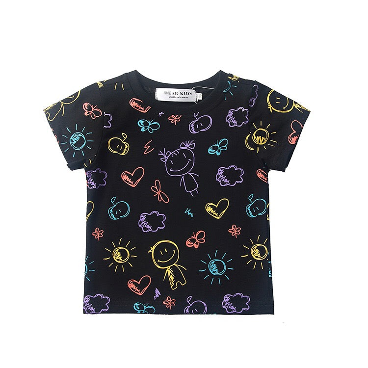 1-7Y Kids Short-Sleeves Shirts A20215I