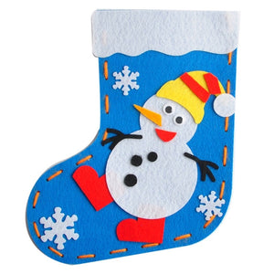 Make your own Christmas Socks DIY Set XM1011C