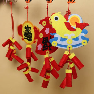 Lunar New Year Art and Craft Decoration DIY Pack CNY1003C